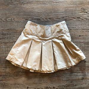GapKids girls khaki skirt in size 7